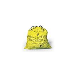 Sac 30 litres jaune L/C Dasri - 20 microns /25