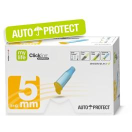 MYLIFE Aiguille pour stylo à insuline SECURISE 5mm / 100